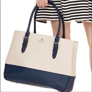 Kate Spade Cove Street Colorblock Ariel Tote Bag